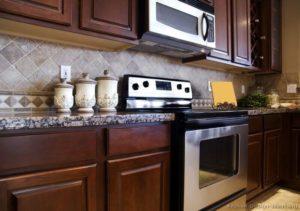 dark wood kitchen san diego contrctors
